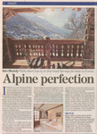 What the Evening Standard says about Chalet Merlo