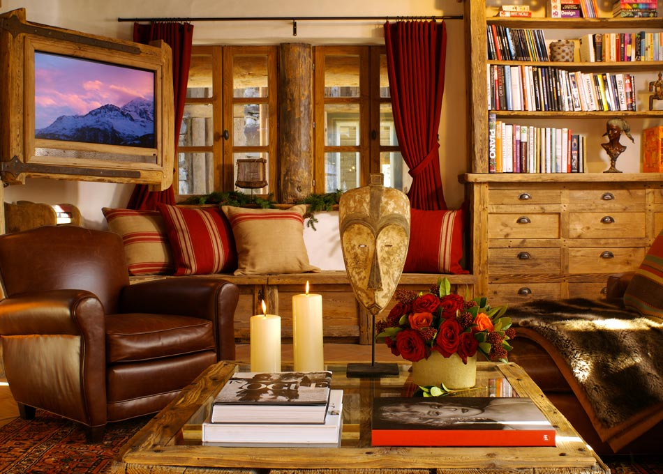 Chalet Merlo Living Room